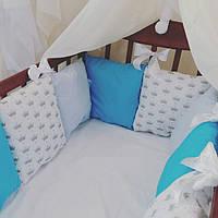 Бортики -защита в детскую кроватку.