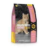 Корм Nutram S1 Sound Balanced Wellness Kitten для котят, 1,8 кг