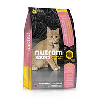 Корм Nutram S1 Sound Balanced Wellness Kitten для котят, 20 кг