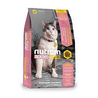 Корм Nutram S5 Sound Balanced Wellness Adult Urinary Cat для котов с проблемами мочеполовой системы, 6,8 кг