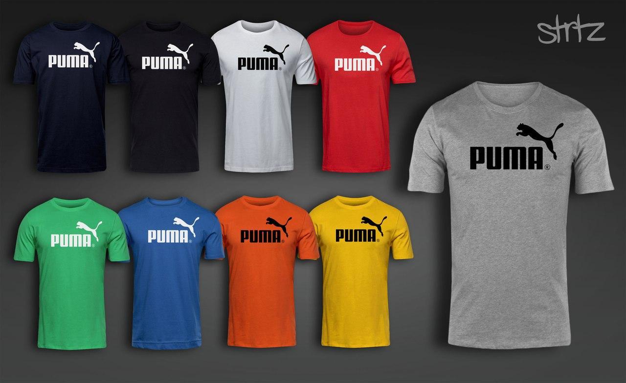 4df8814094e87 Цена на Мужская футболка пума, футболка Puma в интернет магазине ...