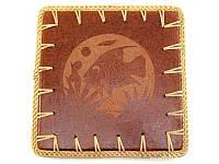 """Подставка под горячее """"Черепаха"""" терракот (23х23х0,5 см) ( 30290)"""
