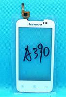 Оригинальный тачскрин / сенсор (сенсорное стекло) для Lenovo A390 (белый цвет, 6 pin)