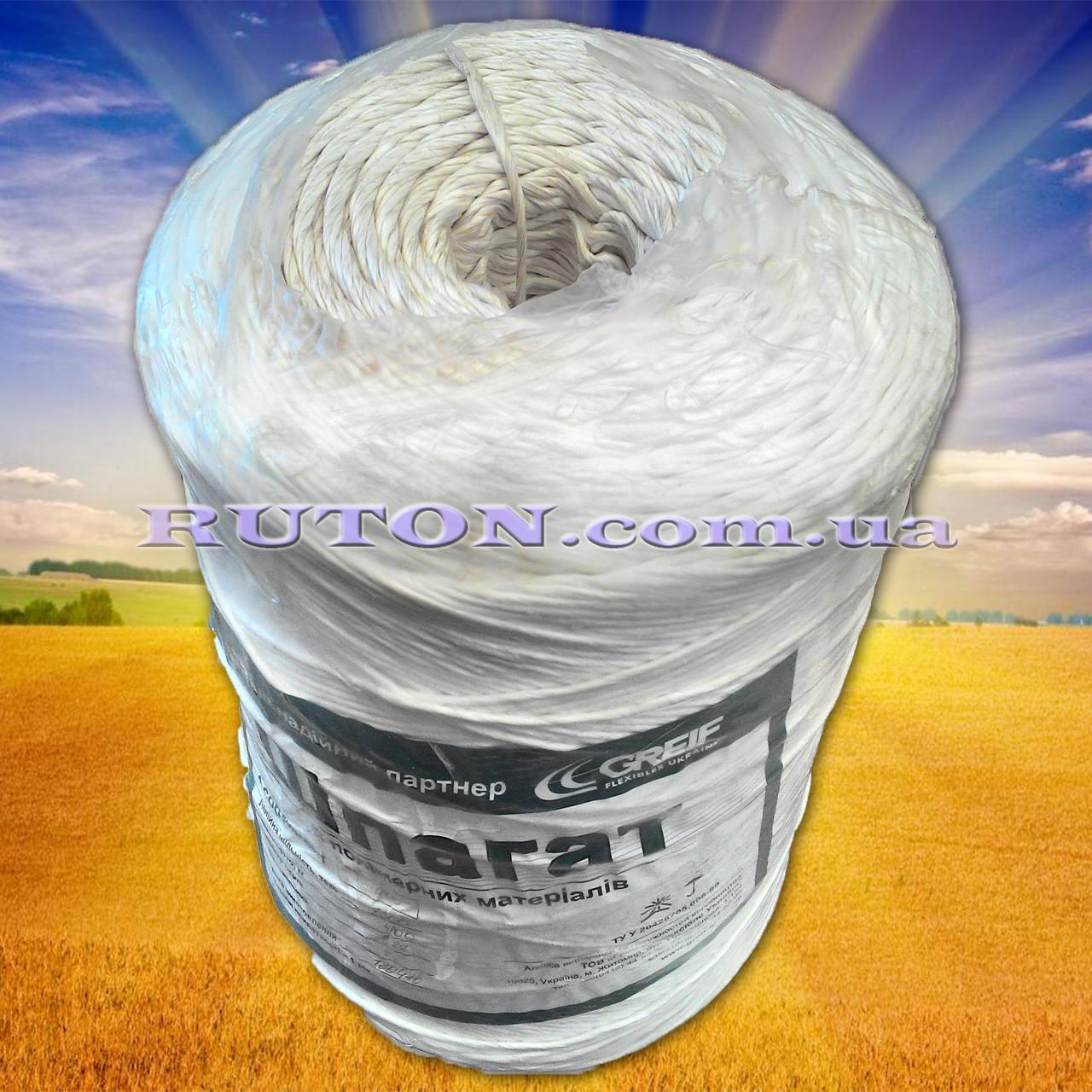Шпагат веревка, подвязочная нить 4 кг. 1600 м белый Житомир