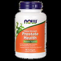 Здоровье простаты / Prostate Health Clinical Strength, 90 гелевых капсул