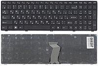 Клавиатура для ноутбука Lenovo IdeaPad G580 G585 G780 Z580 Z585 Z780 V580 (русская раскладка, с рамкой)