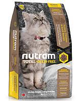 Корм беззерновой с мясом птицы Nutram T22 Total Grain-Free Turkey, Chicken & Duck Cat для кошек, 1,8 кг