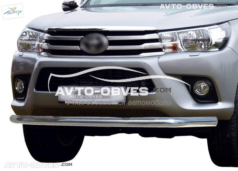 Захисна дуга одинарна для Toyota Hilux 2015 - 2020