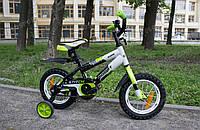 """Детский двухколесный велосипед Azimut 12"""" Stitch Premium"""