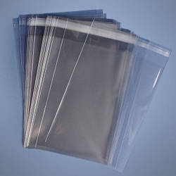 Пакети поліпропіленові 400х500 з клейкою стрічкою (25 мкм)
