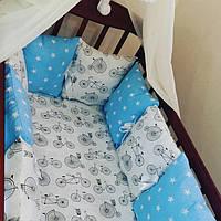 Подушечки в детскую кроватку для безопасного сна, фото 1