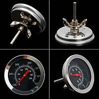 """Термометр высоко-температурный механический """"BBQ"""" качественный - 350 С"""