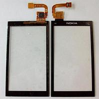 Оригинальный тачскрин / сенсор (сенсорное стекло) для Nokia X6 X6-00 (черный цвет)