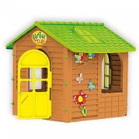 """Игровой домик для детей """"Лесной коричневый"""""""