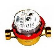 Счетчик горячей воды Js-1.5 Smart+ Powogaz Ду 15 со штуцерами (с дополнительной антимагнитной защитой)