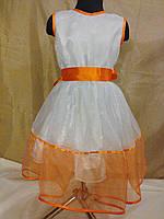 Нарядное платье на девочку 128 рост