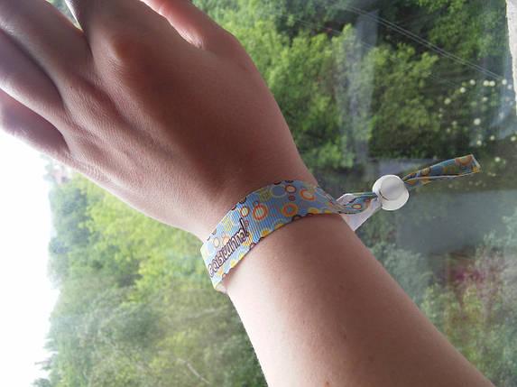 Текстильний браслет: Бог тебя слышит!, фото 2