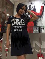 Летнее платье D&G хит 2017