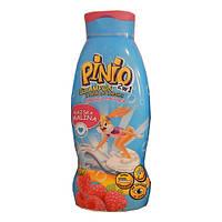 Детский шампунь+гель для купания 2 в 1 Pinio (малина) после 1 года