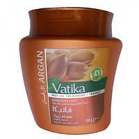 Маска Дабур Ватика для волос с марокканским аргановым маслом Мягкое увлажнение, 500гр