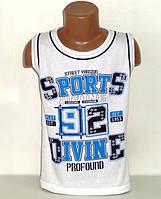 """Майка """"Sports divine 92"""" для мальчиков 9,10,11,12,13 лет"""