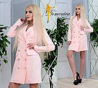 Платье -пиджак  С и М (21025)