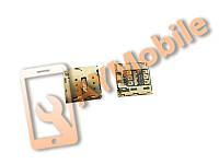 Разъем Sim Asus TF103CG K018 Gionee GN9005 S5.1 S5.5 GN9000 E7T Elife E7 E7T КА-157 Iuni U2 Huawei P6 Mediapad