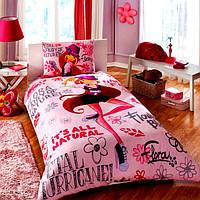 Детское постельное бельё ТАC Winx Holiday Flora (Винкс Холидей Флора)