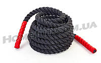 Канат для кроссфита Combat Battle Rope 9м, 12м, 15м 9м