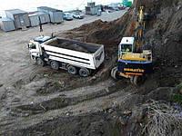 Выкопать яму, траншею, котлован