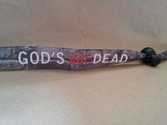 Текстильний браслет: God's not DEAD, фото 2