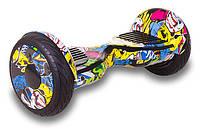 """Гироскутер Smart Balance All Road APP 10,5"""" дюймов Hip-Hop (граффити)"""