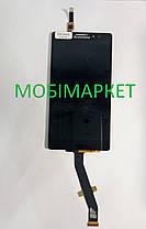 Модуль (сенсор + дисплей) Lenovo K910 Vibe Z чорний, фото 2