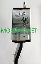 Модуль (сенсор + дисплей) Lenovo K910 Vibe Z чорний, фото 3