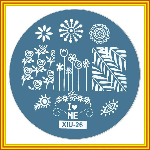 """Диск для Стемпинга Круглый Металлический, заказать купить дешево оптом, мелким оптом и в розницу через интернет магазин http://opt21.com с доставкой по всей Украине от Компании """"Маргарита"""" город Днепр"""