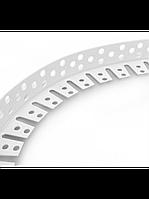 Угол перфорированный арочный ПВХ (арочный штукатурный)