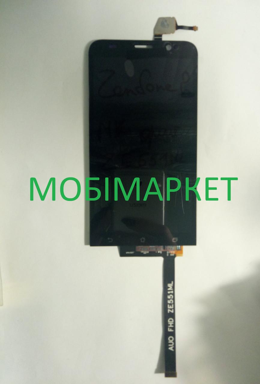 Модуль (сенсор+дисплей) для Asus ZenFone 2 (ZE551ML) orig.чорний