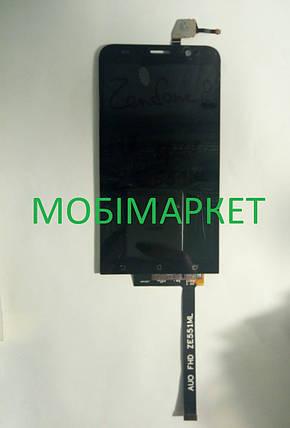 Модуль (сенсор+дисплей) для Asus ZenFone 2 (ZE551ML) orig.чорний, фото 2