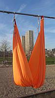 Гамак для йоги ( Оранжевый)