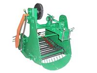 Картофелекопатель транспортерный цепной КМ-6 для тяжелых мотоблоков (привод справа) Агромарка