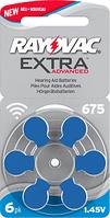 Батарейки Rayovac EXTRA 675 (1,45 V) 6шт