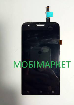 Модуль (сенсор+дисплей) Asus ZenFone C (ZC451CG) чорний, фото 2