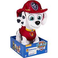 """Мягкая игрушка щенок Маршал ― Щенячий патруль (Paw Patrol) basic 10"""" , фото 1"""