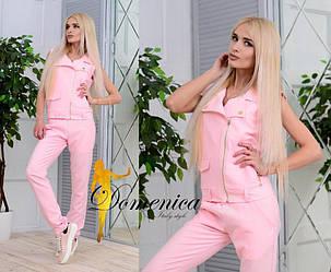 Костюм Ткань Барби костюмка люкс  С и М (21028)