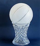 """Сувенір""""Баскетбольний м'яч"""" (кришталь)"""