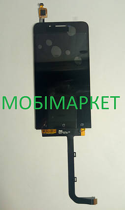 Модуль (сенсор+дисплей) Asus ZenFone Go (ZC500TG) чорний, фото 2