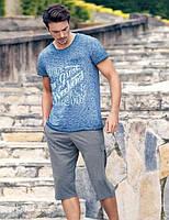 Мужской комплект футболка+бриджи Турция