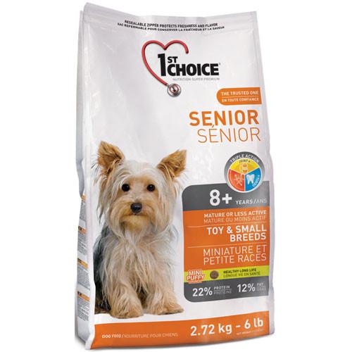 Сухий корм 1st Choice для мініатюрних собак малих порід, старше 8 років 7КГ