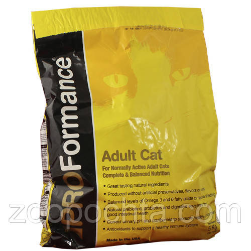 PROFormance (ПРОФорманс) c курицей сухой супер премиум корм для взрослых котов