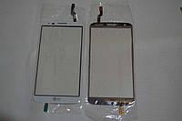 Оригинальный тачскрин / сенсор (сенсорное стекло) для LG G2 D802 | D805 (белый цвет) + СКОТЧ В ПОДАРОК